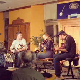 Bound for Glory, N. America's longest running live folk music radio broadcast